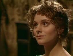 Elizabeth Garvie as Elizabeth Bennett in Pride and Prejudice, BBC 1980