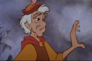 Fflewddur Fflam from Disney's Black Cauldron, 1985