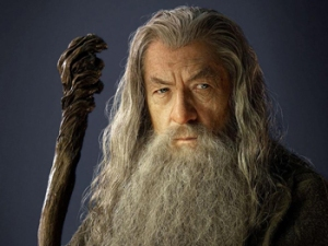 Sir Ian McKellen as Gandalf Photo Credit: LOTR Wikia