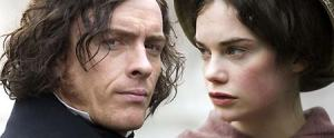 Ruth Wilson and Toby Stephens as Jane Eyre and Edward Rochester in Jane Eyre, BBC, 2006