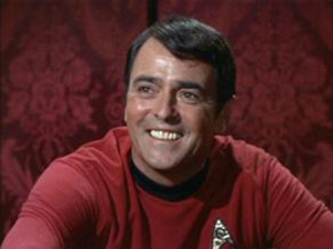 James Doohan as Lt. Commander and Chief Engineer Montgomery Scott from Star Trek Photo Credit: en.memory-alpha.org/wiki