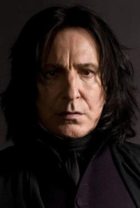 Alan Rickman as Severus Snape in the Harry Potter series Photo Credit: Harry Potter Wikia