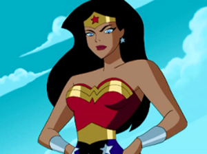 Wonder Woman from the DC Animated Universe