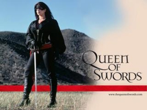 Tessie Santiago as Tessa Alvarado in The Queen of Swords