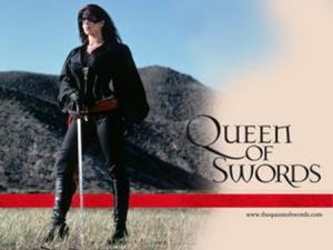 Tessie Santiago as Tessa Alvarado in The Queen of Swords
