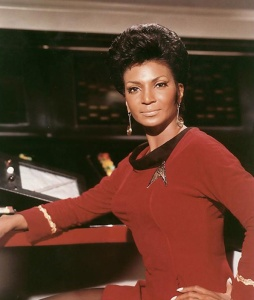 Nichelle Nichols as Lt. Nyota Uhura Photo Credit: http://thevalkyriedirective.tumblr.com