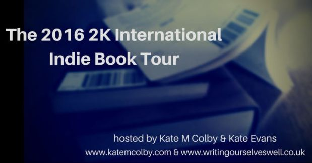The 2016 2K Indie Book Tour: Kate Evans